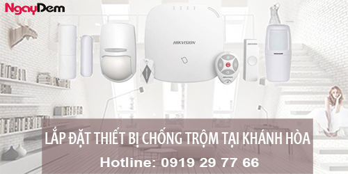 Lắp đặt chống trộm tại Khánh Hòa