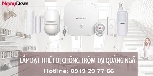 Lắp đặt camera chống trộm tại Quảng Ngãi